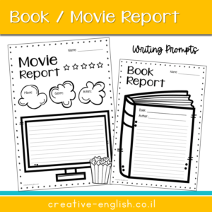 book report writing prompt