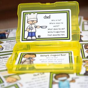 כרטיסיות כתיבה- בעלי מקצוע