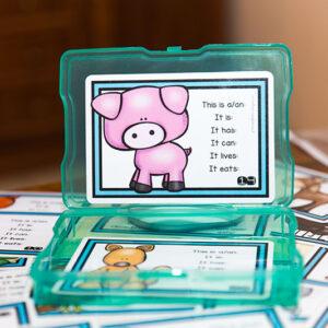 כרטיסיות בעלי חיים