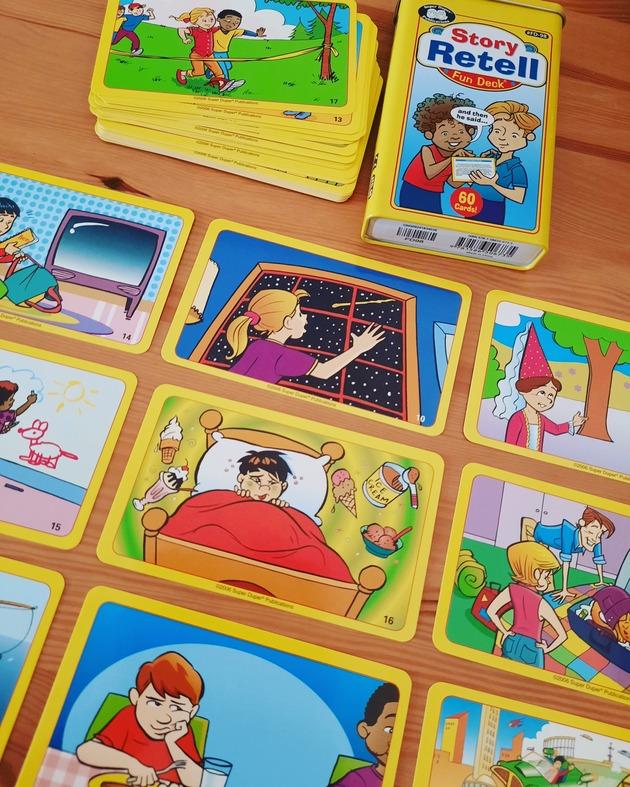 כרטיסיות סיפור